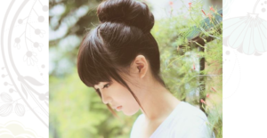 Korean hair bun