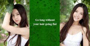 flat hair